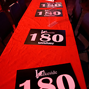 14.01.2018 Spectators during the mens final match at the BDO Lakeside  World Professional Darts Championships Lakeside Country Club in Frimley, England UK.