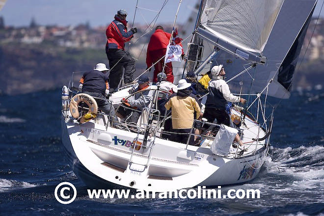 SAILING -  Audi Sydney Harbour Regatta 2008, Middle Harbour Yacht Club, Sydney (AUS) - 01/03/08 - ph. Andrea Francolini<br />