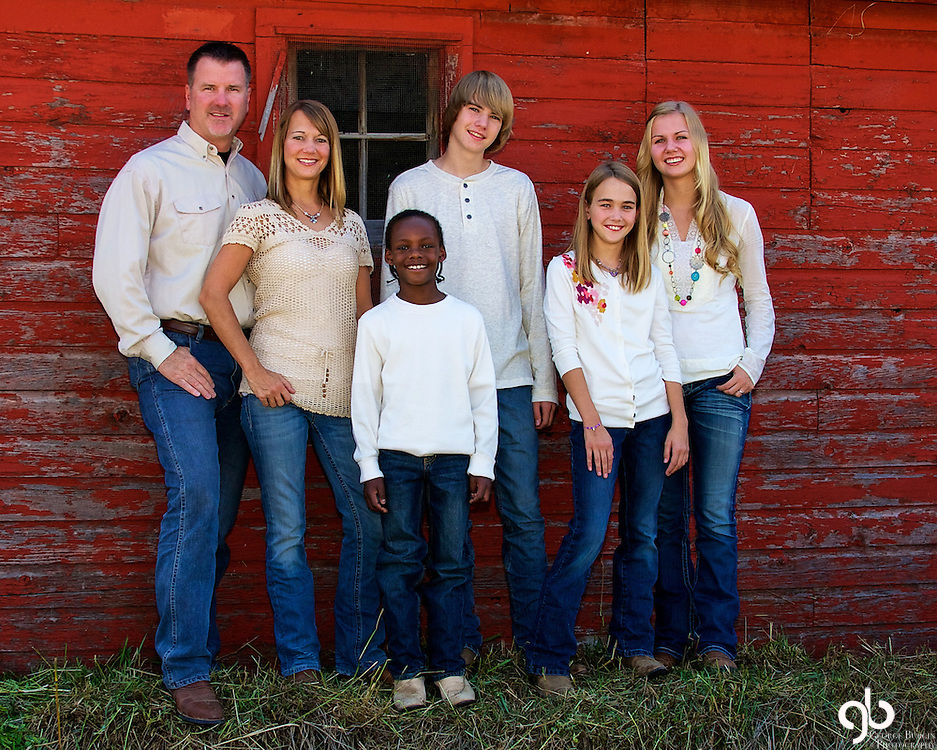 Family Portrait of Dave Ulrichs' family