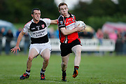 IHC at Cortown, 2nd September 2016<br /> St Michaels vs Dunderry<br /> Eran Meehan (St Michaels) & David McCormack  (Dunderry)<br /> Photo: David Mullen /www.cyberimages.net / 2016