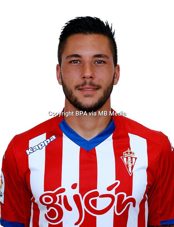 Spain - La Liga Adelante 2014-2015 / <br /> ( Real Sporting de Gijon ) - <br /> Miguel Angel Guerrero Martin &quot; Miguel Angel Guerrero &quot;
