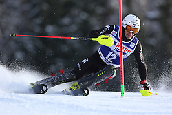 06.01.2014, Stelvio, Bormio, ITA, FIS Weltcup Ski Alpin, Bormio, Slalom, Herren, im Bild Patrick Thaler // Patrick Thaler  in action during mens Slalom of the Bormio FIS Ski World Cup at the Stelvio in Bormio, Italy on 2014/01/06. EXPA Pictures © 2014, PhotoCredit: EXPA/ Sammy Minkoff<br /> <br /> *****ATTENTION - OUT of GER*****