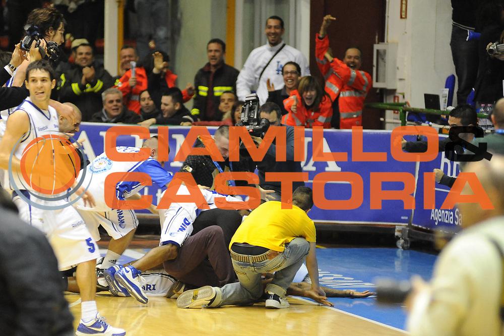 DESCRIZIONE : Sassari Lega A2 2009-10 Final Four Coppa Italia Semifinale Banco di Sardegna Sassari Enel Brindisi<br /> GIOCATORE : Team Sassari<br /> SQUADRA : Banco di Sardegna Sassar<br /> EVENTO : Campionato Lega A2 2009-2010<br /> GARA : Banco di Sardegna Sassari Enel Brindisi<br /> DATA : 06/03/2010<br /> CATEGORIA : Esultanza<br /> SPORT : Pallacanestro<br /> AUTORE : Agenzia Ciamillo-Castoria/GiulioCiamillo<br /> Galleria : Lega Basket A2 2009-2010  <br /> Fotonotizia : Sassari Lega A2 2009-2010 Final Four Coppa Italia Semifinale Banco di Sardegna Sassari Enel Brindisi<br /> Predefinita :