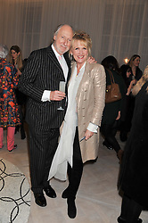 ED VICTOR and LOUISE FENNELL at a party to celebrate the publication of Fame Game by Louise Fennell held at Grace, West Halkin Street, London on 12th March 2013.
