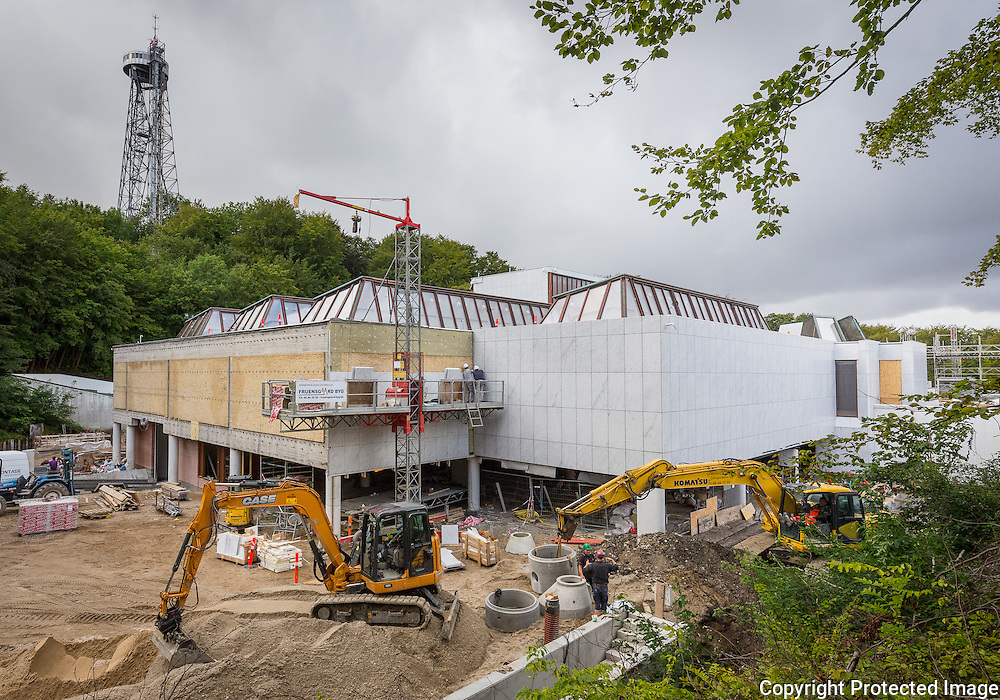 Kunsten, Museum of Modern Art Aalborg was designed jointly by the Finnish architects Alvar and Elissa Aalto and the Danish architect Jean-Jacques Baruël. Restoration and expansion work by Søren Jensen Engineers, 2015.