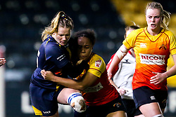Carys Cox of Worcester Warriors Women - Mandatory by-line: Robbie Stephenson/JMP - 11/01/2020 - RUGBY - Sixways Stadium - Worcester, England - Worcester Warriors Women v Richmond Women - Tyrrells Premier 15s