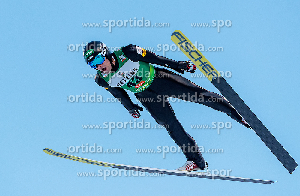 25.11.2016, Nordic Arena, Ruka, FIN, FIS Weltcup Nordische Kombination, Nordic Opening, Kuusamo, Skisprung, im Bild Philipp Orter (AUT) // Philipp Orter (AUT) during Skijumping of FIS Nordic Combined World Cup of the Nordic Opening at the Nordic Arena in Ruka, Finland on 2016/11/25. EXPA Pictures © 2016, PhotoCredit: EXPA/ JFK