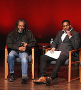 l to r: Bobby McFerrin and Terrance McKnight at Tribute to Robert McFerrin presented by The New York City Opera and The Schomburg Center for Research in Black Culture on March 6, 2010 in Harlem, New York City. Terrence Jennings/Retna, Ltd