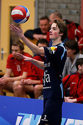 09-02-2013 VOLLEYBAL: NOJK 2013: HALVE FINALES DORDRECHT<br /> In Dordrecht werd de halve finale van de NOJK A Jeugd gespeeld / Next Volley Dordrecht, Timothy Scheffers.<br /> &copy;2012-FotoHoogendoorn.nl / Pim Waslander