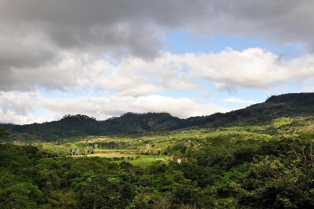 Copan River Valley, Copan Ruinas, Central America, Honduras.