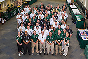 The 2015 Master's in Athletic Administration group photo. © Ohio University / Photo by Rob Hardin