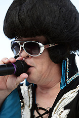 Little E (Elvis Impersonator) Rights Managed Stock Images