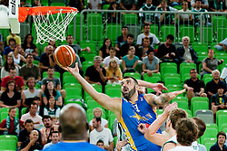 Ratko Varda of BiH at friendly match between Slovenia and Bosnia and Hercegovina for Adecco Cup 2011 as part of exhibition games before European Championship Lithuania on August 9, 2011, in SRC Stozice, Ljubljana, Slovenia. (Photo by Matic Klansek Velej / Sportida)