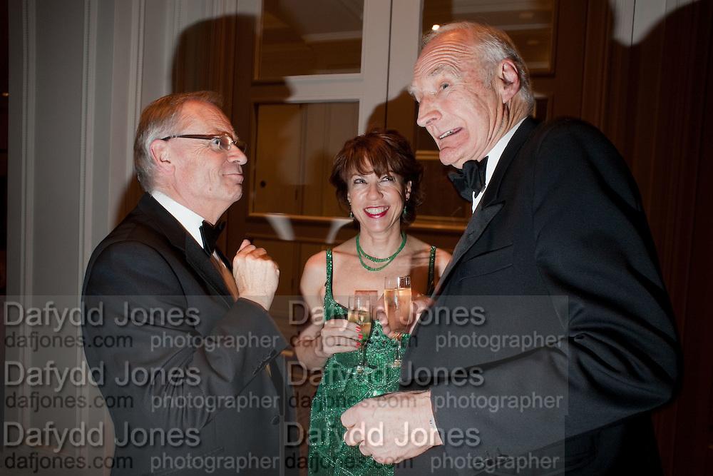 LORD JEFFREY ARCHER; KATHY LETTE; PETER SNOW, 80th anniversary gala dinner for the FoylesÕ Literary Lunch. Ballroom. Grosvenor House Hotel. Park Lane. London. 21 October 2010. -DO NOT ARCHIVE-© Copyright Photograph by Dafydd Jones. 248 Clapham Rd. London SW9 0PZ. Tel 0207 820 0771. www.dafjones.com.<br /> LORD JEFFREY ARCHER; KATHY LETTE; PETER SNOW, 80th anniversary gala dinner for the Foyles' Literary Lunch. Ballroom. Grosvenor House Hotel. Park Lane. London. 21 October 2010. -DO NOT ARCHIVE-© Copyright Photograph by Dafydd Jones. 248 Clapham Rd. London SW9 0PZ. Tel 0207 820 0771. www.dafjones.com.