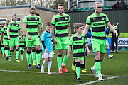 Mascot during the EFL Sky Bet League 2 match between Forest Green Rovers and Macclesfield Town at the New Lawn, Forest Green, United Kingdom on 13 April 2019.