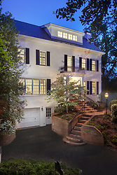 5026 Klingle house front exterior twilght VA 2-174-311