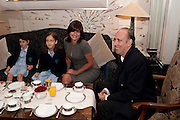 AVA JONES; STELLA JONES; MIRANDA DAVIES;  MICK JONES,  Stephen Webster hosted  the Stephen Webster Bijoux Tea.  Launching the  tea  inspired by StephenÕs most recent fine jewellery collection ÔMurder She WroteÕ whichwas also on display. Langham Hotel. Portland Place. London. 14 September 2011. <br /> <br />  , -DO NOT ARCHIVE-© Copyright Photograph by Dafydd Jones. 248 Clapham Rd. London SW9 0PZ. Tel 0207 820 0771. www.dafjones.com.<br /> AVA JONES; STELLA JONES; MIRANDA DAVIES;  MICK JONES,  Stephen Webster hosted  the Stephen Webster Bijoux Tea.  Launching the  tea  inspired by Stephen's most recent fine jewellery collection 'Murder She Wrote' whichwas also on display. Langham Hotel. Portland Place. London. 14 September 2011. <br /> <br />  , -DO NOT ARCHIVE-© Copyright Photograph by Dafydd Jones. 248 Clapham Rd. London SW9 0PZ. Tel 0207 820 0771. www.dafjones.com.