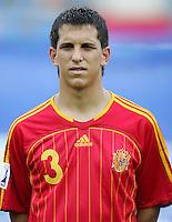 Fussball International U17 WM Korea  Honduras - Spanien Honduras - Spain Alberto Morgado (ESP)