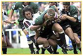 London Irish v Saracens. 15-9-2002. Season 2002-2003.
