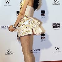 """HONG KONG - MARCH 22:  Hong Kong actress Karen Mok attends the Opening Ceremony of the 33rd Hong Kong International Film Festival, the Gala Premiere of the opening films """"Shinjuku Incident """" and """"Night and Fog"""", at the Hong Kong Convention and Exhibition Centre on March 22, 2009 in Hong Kong.  Photo by Victor Fraile / studioEAST"""