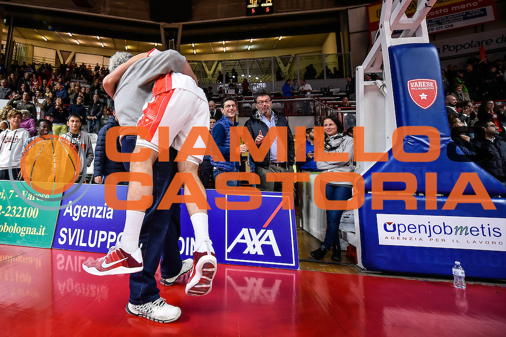 Cavaliero Daniele<br /> Pallacanestro Varese - Pasta Reggia Juve Caserta<br /> Basket serie A 2016/2017<br /> Varese 09/10/2016<br /> Foto Ciamillo-Castoria