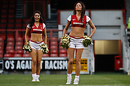 Picture by David Horn/Focus Images Ltd +44 7545 970036.21/08/2012.Pre match entertainment before Leyton Orient's 1st game of the season in the npower League 1 match at the Matchroom Stadium, London.