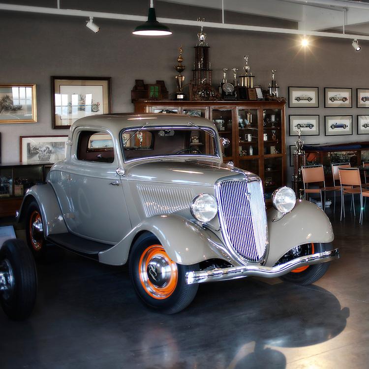 Don Orosco's garage, Monterey, California, USA