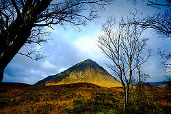 Buachaille Etive Mor - a well known and well loved Munro at the head of Glen Etive on Rannoch Moor, Highlands of Scotland<br /> <br /> (c) Andrew Wilson   Edinburgh Elite media