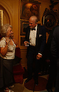 Primrose Johnson and Claus von Bulow , Party given by Taki and Alexandra Theodorakopoulos. Annabels. London. 26 September 2006. -DO NOT ARCHIVE-© Copyright Photograph by Dafydd Jones 66 Stockwell Park Rd. London SW9 0DA Tel 020 7733 0108 www.dafjones.com