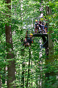 Hocking Hills Canopy Tours in Rockbridge, Ohio.
