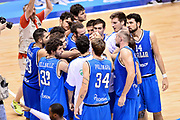 DESCRIZIONE : Trieste Nazionale Italia Uomini Torneo internazionale Italia Canada Italy Canada<br /> GIOCATORE : Team<br /> CATEGORIA : Pregame Before<br /> SQUADRA : Italia Italy<br /> EVENTO : Torneo Internazionale Trieste<br /> GARA : Italia Canada Italy Canada<br /> DATA : 03/08/2014<br /> SPORT : Pallacanestro<br /> AUTORE : Agenzia Ciamillo-Castoria/Max.Ceretti<br /> Galleria : FIP Nazionali 2014<br /> Fotonotizia : Trieste Nazionale Italia Uomini Torneo internazionale Italia Canada Italy Canada