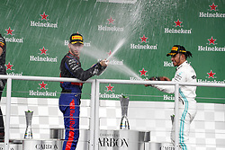 November 17, 2019, Sao Paulo, Brazil: Motorsports: FIA Formula One World Championship 2019, Grand Prix of Brazil, . #10 Pierre Gasly (FRA, Red Bull Toro Rosso Honda), #44 Lewis Hamilton (GBR, Mercedes AMG Petronas Motorsport) (Credit Image: © Hoch Zwei via ZUMA Wire)