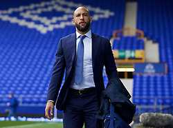 LIVERPOOL, ENGLAND - Saturday, March 12, 2016: Everton's goalkeeper Tim Howard arrives at Goodison Park before the FA Cup Quarter-Final match against Chelsea. (Pic by David Rawcliffe/Propaganda)