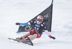 Zogg Julie during the FIS snowboarding world cup race in Rogla (SI / SLO) | GS on January 20, 2018, in Jasna Ski slope, Rogla, Slovenia. Photo by Urban Meglic / Sportida