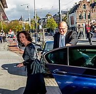 AMSTERDAM - Burgemeester Femke Halsema van Amsterdam Herdenkingsbijeenkomst in het Concertgebouw voor de overleden oud-premier Wim Kok.