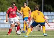Johnny Sørensen (Ejby) under kampen i Serie 2 mellem Ølstykke FC og Ejby IF den 7. september 2019 på Ølstykke Stadion. Foto: Claus Birch.