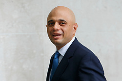 © Licensed to London News Pictures. 26/06/2016. London, UK. Business Secretary SAJID JAVID arrives at BBC Broadcasting House in London to appear on The Andrew Marr show on BBC One on Sunday, 26 June 2016 after being sacked from the shadow cabinet by Jeremy Corbyn. Photo credit: Tolga Akmen/LNP