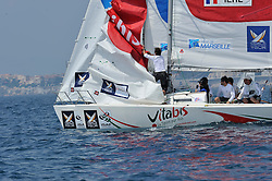 Radich and Iehl in the semi final. Photo:Chris Davies/WMRT