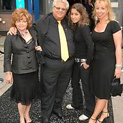 NLD/Amsterdam/20060515 - Presentatie nieuwe sieradenlijn Rodrigo Otazu 2006, Tony Tetro, partner en dochter