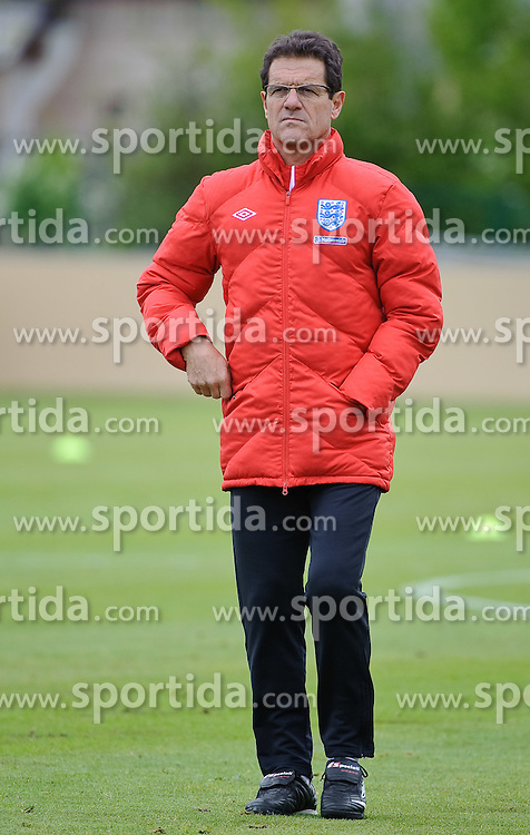 19.05.2010, Arena, Irdning, AUT, FIFA Worldcup Vorbereitung, Training England, im Bild Englands Nationaltrainer/ Manager Fabio Capello, EXPA Pictures © 2010, PhotoCredit: EXPA/ S. Zangrando / SPORTIDA PHOTO AGENCY