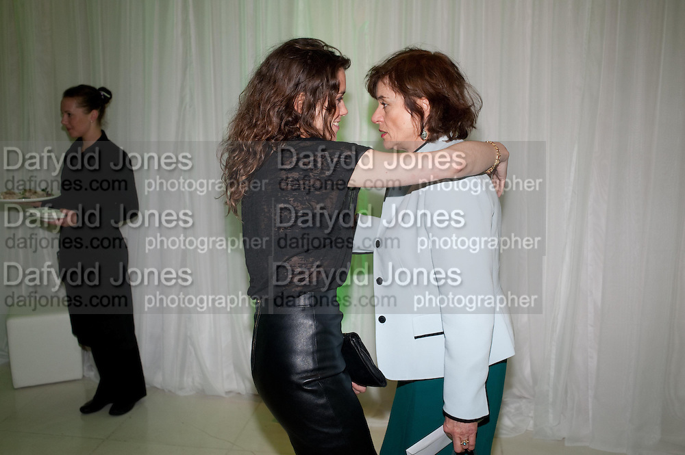 EMILY BRUNI; DIANA QUICK, English National Ballet Beyond Ballets Russes at the London Coliseum opening night party at the St Martins Lane Hote, Londonl . 22 March 2012.