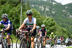 Elena Cecchini (CANYON//SRAM Racing) climbing with the best at Giro Rosa 2016 - Stage 6. A 118.6 km road race from Andora to Alassio, Italy on July 7th 2016.
