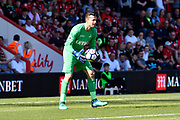 Lukasz Fabianski (1) of Swansea City during the Premier League match between Bournemouth and Swansea City at the Vitality Stadium, Bournemouth, England on 5 May 2018. Picture by Graham Hunt.