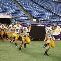 This NCAA First Round Football game was covered by d3photography.com for CSSSaints.com.