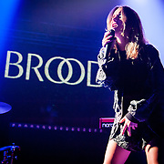 Broods performing at Echostage on September 16, 2014.