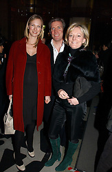 "Left to right, DARCEY VIGORS, GARY WILLCOX and JO MALONE attend opening night of ""Kylie - The Exhibition"" at Victoria & Albert Museum February 6, 2007 in London.<br />