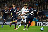 Tottenham v PSV 06/11/2018