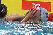 Charlotte Bonnet (FRA) competes and Wins the Gold Medal on Women's 200 m Freestyle during the Swimming European Championships Glasgow 2018, at Tollcross International Swimming Centre, in Glasgow, Great Britain, Day 5, on August 6, 2018 - Photo Stephane Kempinaire / KMSP / ProSportsImages / DPPI