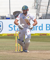 Durban. 040318.Theunis de Bruyn of the Proteas during day 4 of the 1st Sunfoil Test match between South Africa and Australia at Sahara Stadium Kingsmead on March 04, 2018 in Durban, South Africa. Picture Leon Lestrade/African News Agency/ANA