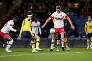 Michael Smith of Rotherham United in action during the EFL Sky Bet League 1 match between Oxford United and Rotherham United at the Kassam Stadium, Oxford, England on 11 January 2020.